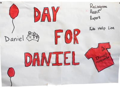 Day for Daniel drawing by a child